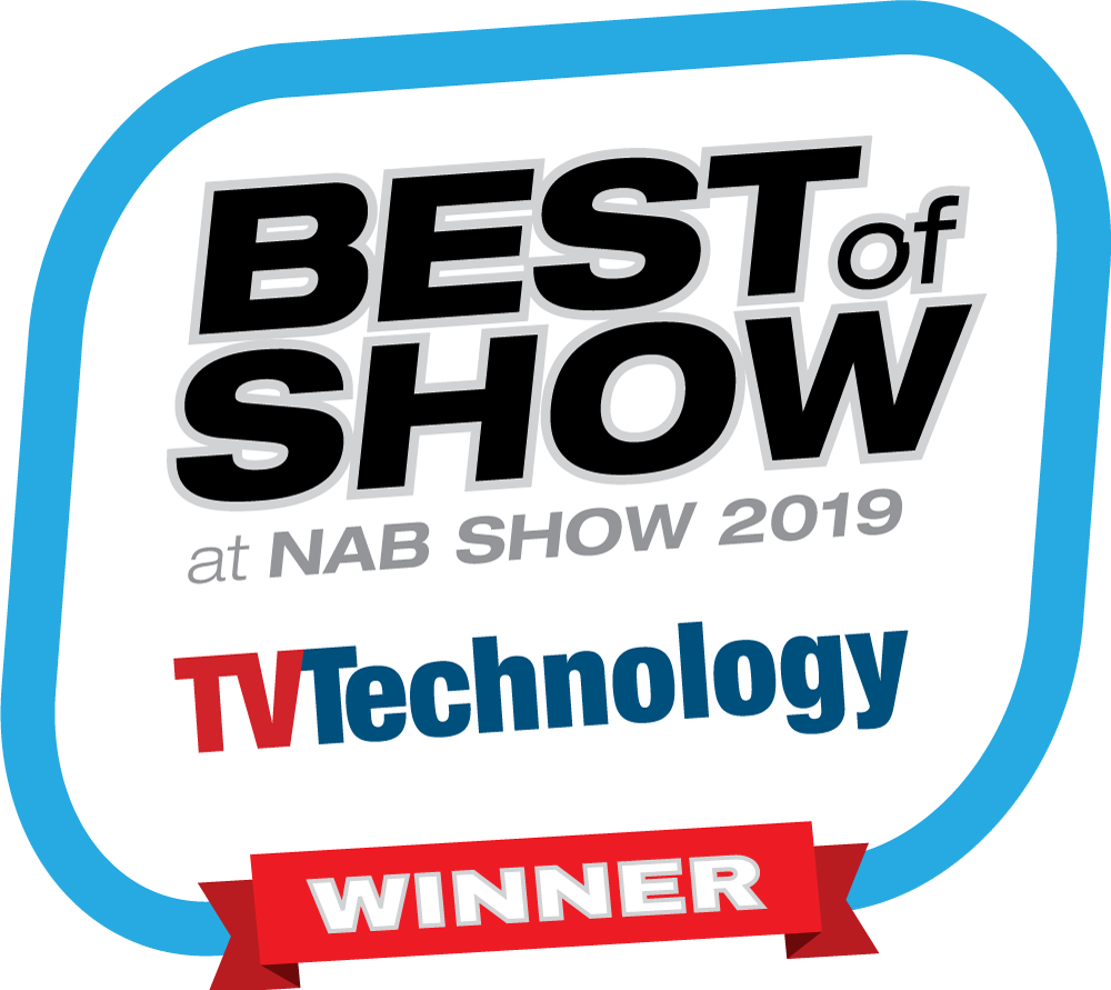TVTechnology - NAB Show 2019 Best of Show Award